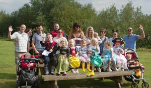 NCT Toddlers sponsored fancy dress walk